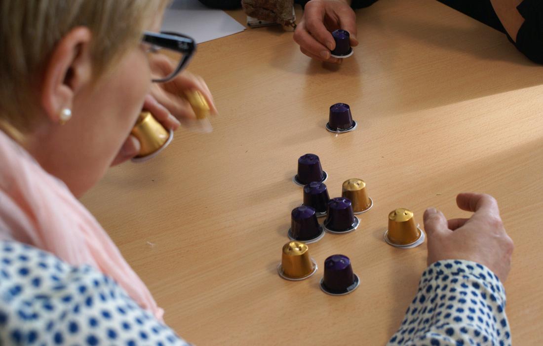 Préférence Activités sensorielles Alzheimer – Ecarts d'arts YT02